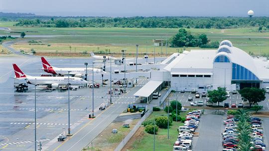 Darwin Airport today