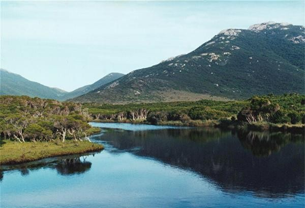 Tidal River at Wilsons Promontory 1990