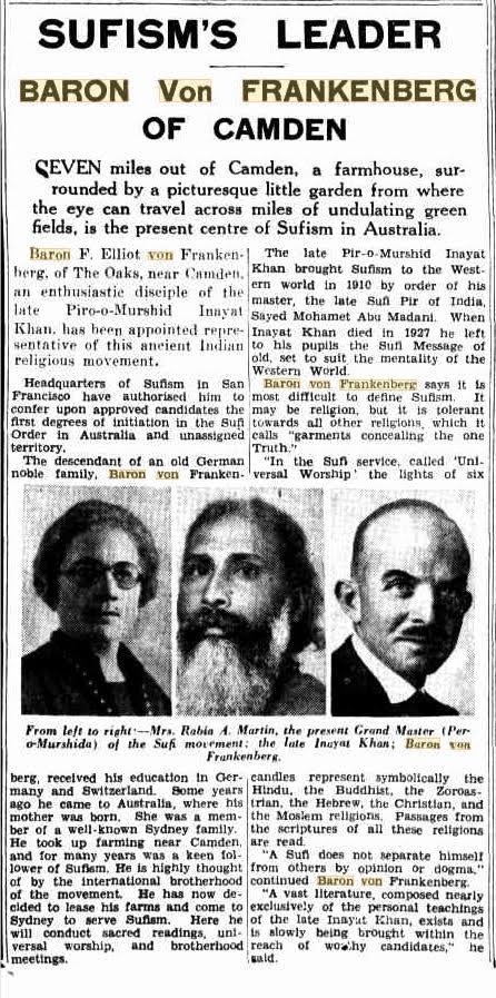 Sydney The Sun newspaper, 10 June 1934