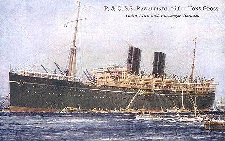P & O. SS. RAWALPINDI