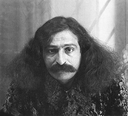 1931 : This image of Meher Baba is the one used for his passport.