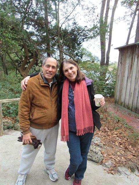 Maraiya with Richie Blum at the Meher Center, Myrtle Beach, SC.
