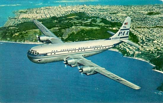 PAN AM Stratocruiser