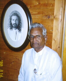 Bhaskara Raju at Meher Center, 2002
