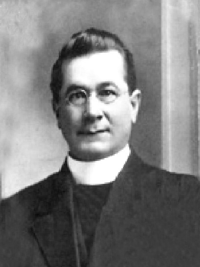 Rev. Oldenburg, circa 1915, Fruita, Colorado