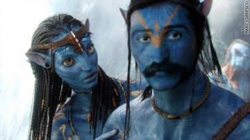 "Changing the main character from the film ""Avatar"""