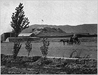Quetta Fort, 1920