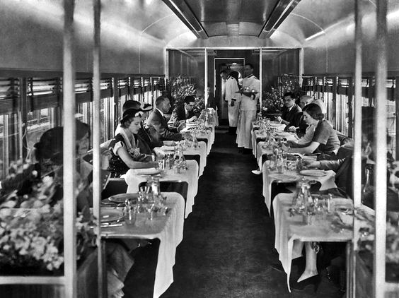 1936 : 20th Century Limited dining carriage