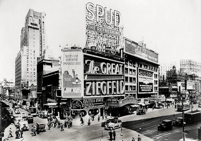 The Astor Theatre, located at Broadway and 45th Street-1936