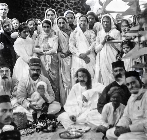 Meher Baba's 31st birthday in 1925