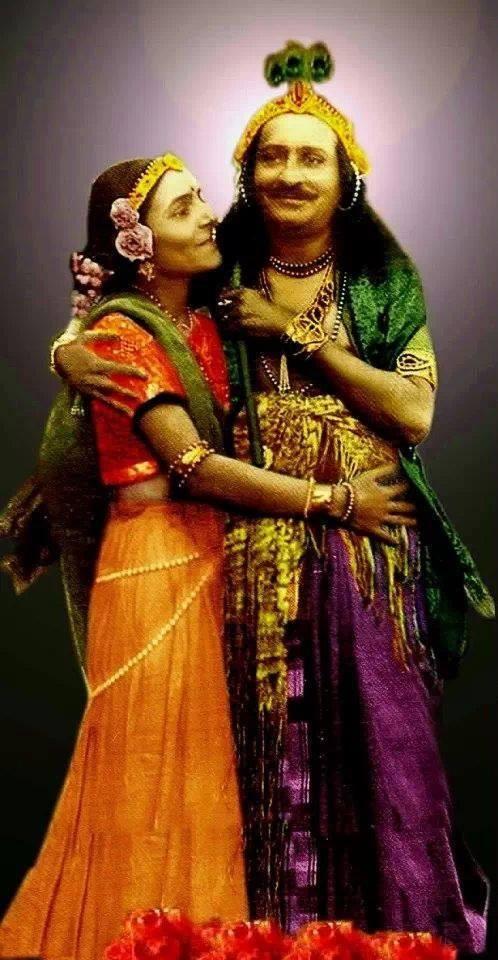 Meher Baba & Mehera Irani : Courtesy of Meher Bharath T