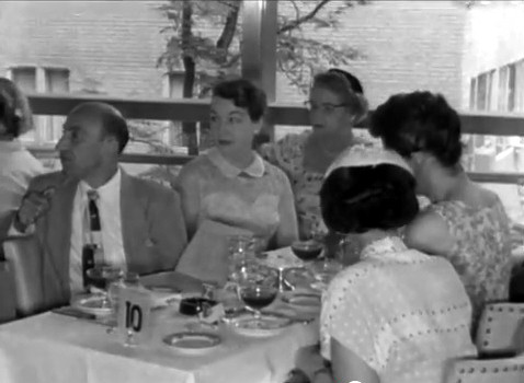 22nd July 1956 ; Longchamps Restaurant, New York City
