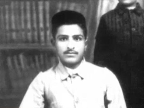 Merwan Irani, photo taken at the time when he went  to Deccan College in Poona