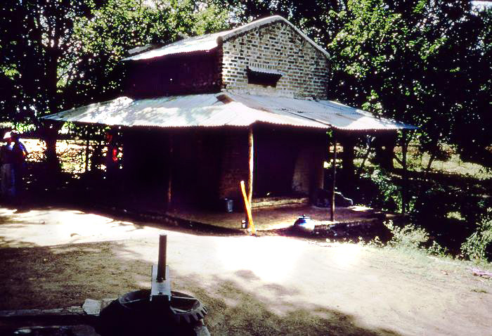 The shed in Sakori where Upasni met with Meher Baba for the last time in 1941 - photo courtesy of Anne Giles