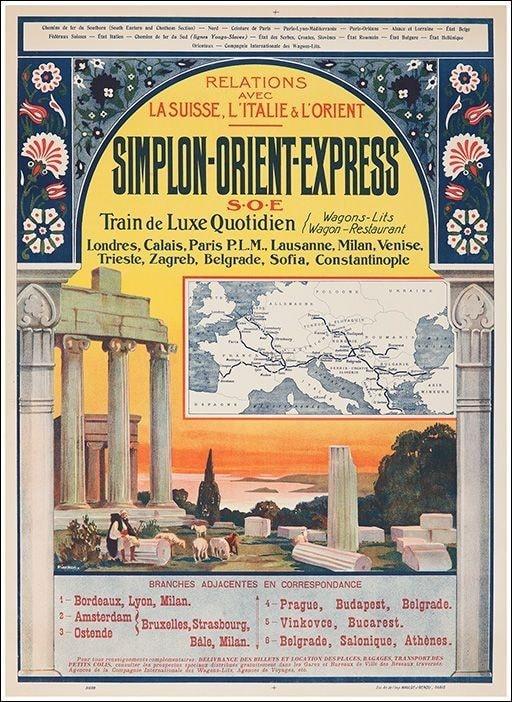 Vintage poster courtesy of Hasan Selisik.