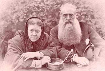 Helena P.Blavastsky & Col. Henry Steele Olcott