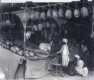 Quetta Fruit Market, 1930
