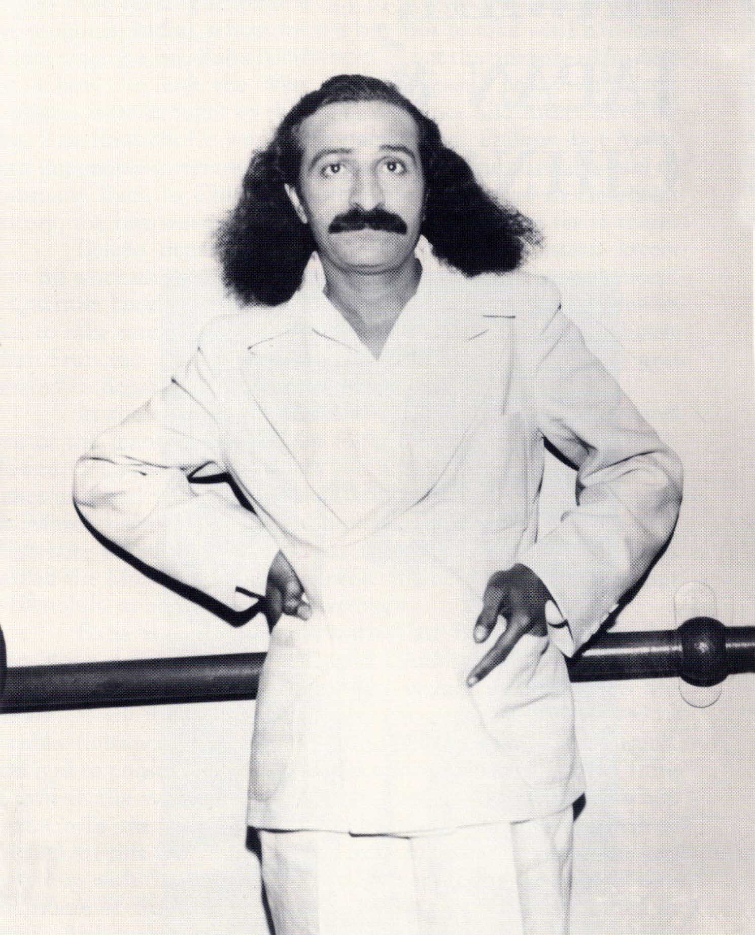 Meher Baba on board the S.S. Monterey