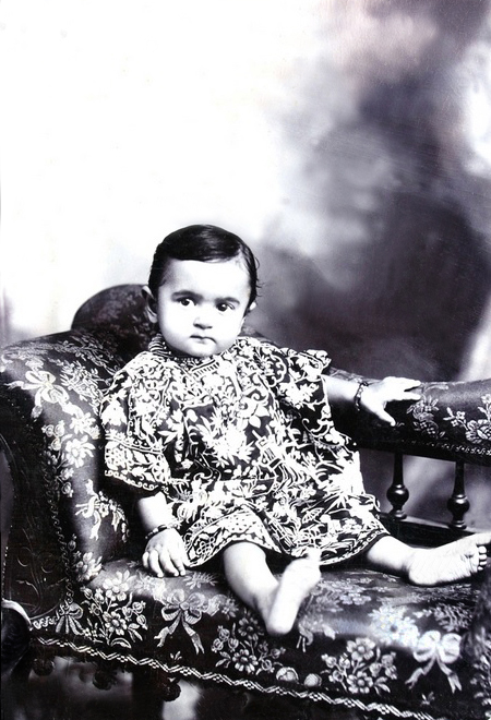 Infant Sarosh. Courtesy of MN images.