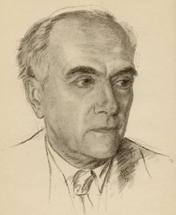 "(The above sketch by M. Somer appears as the frontispiece in Purdom's 1951 autobiography ""Life Over Again"")"