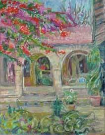 Meher Baba Pilgrim Center Garden, India