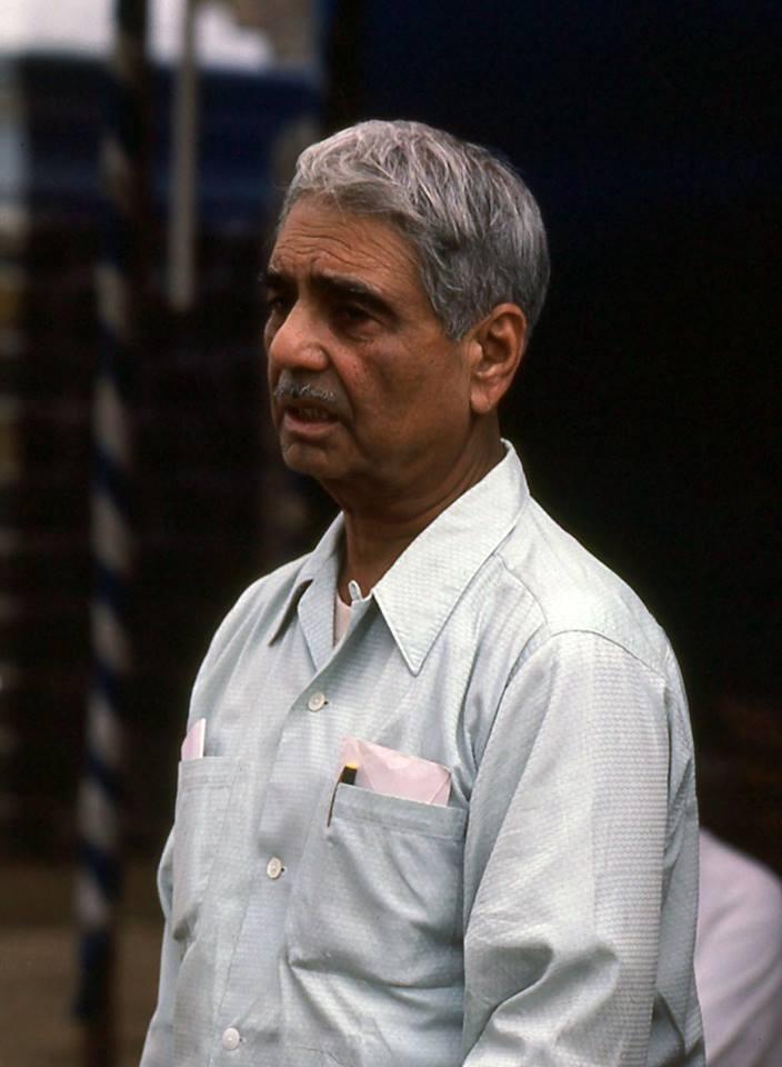 1982 Amartithi : Eruch Jessawala. Photo taken by Frank Bloise
