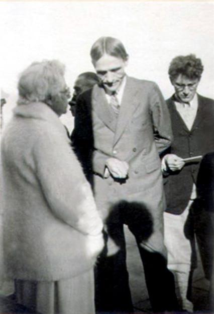 1922 : Dr.Besant, S.E. Knapp & Max Wardall