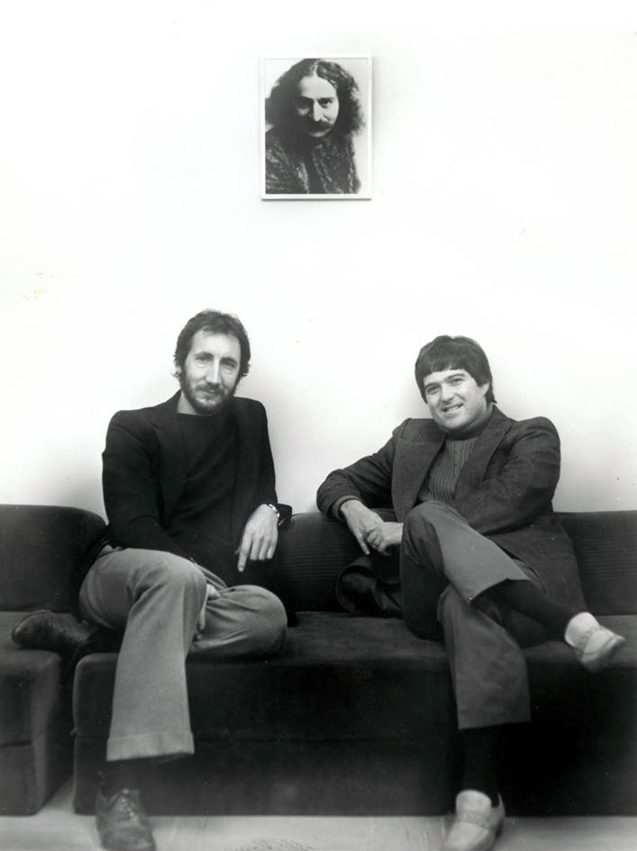 Pete with Allan Cohen