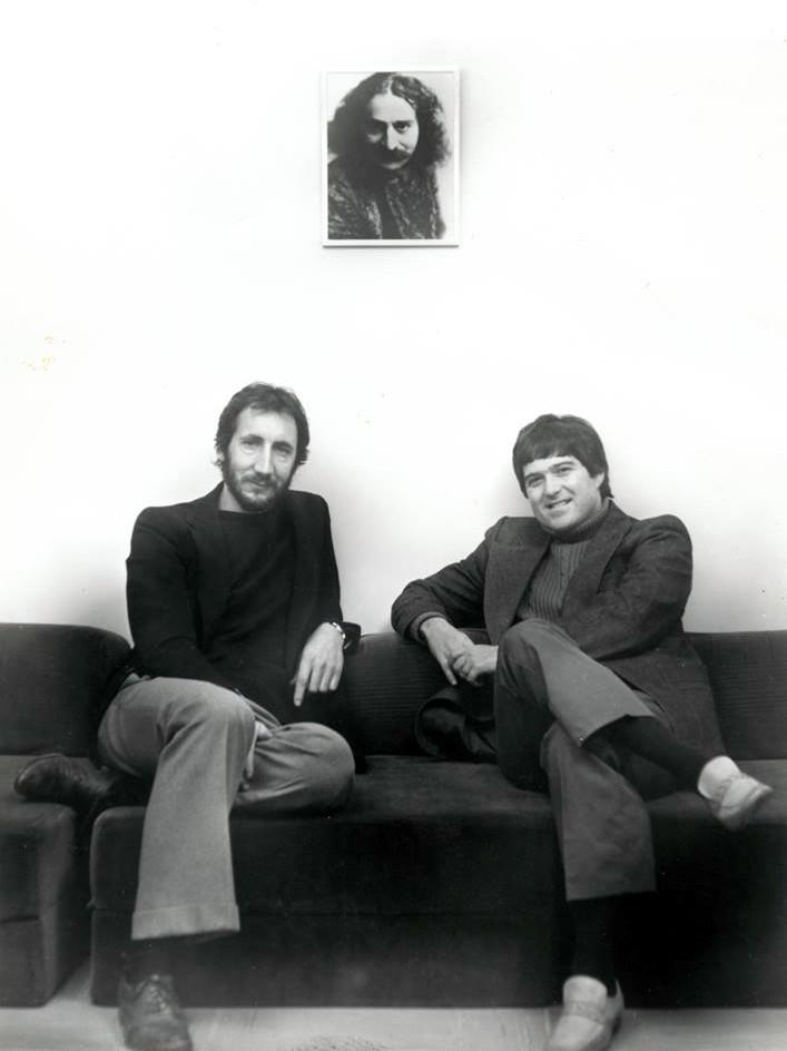Pete with Allan Cohen
