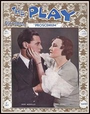 Scene from the play on the cover of magazine