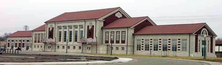 Topeka Union Railway Station, Kansas