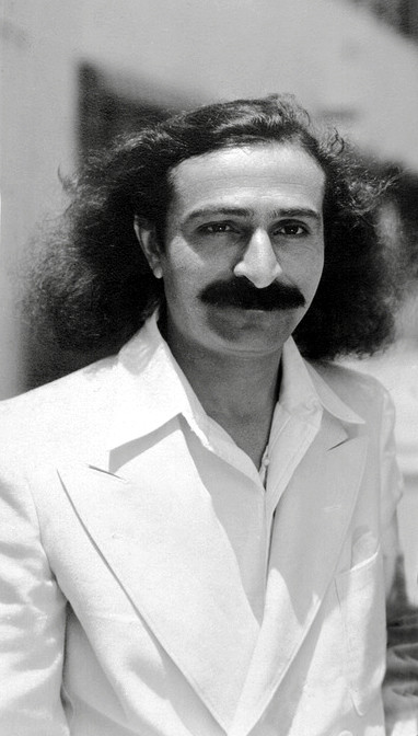 31st May, 1932 : Meher Baba at Paramount Studios, Hollywood. ( cropped image )