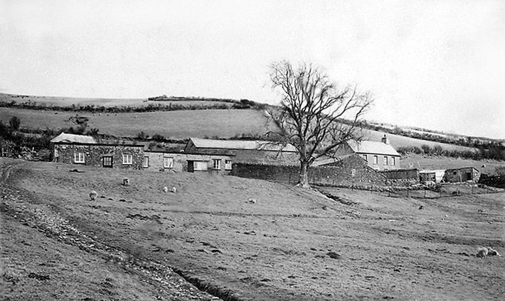 1931 - East Challacombe, Devon, England. Courtesy of MNP ; crn1518
