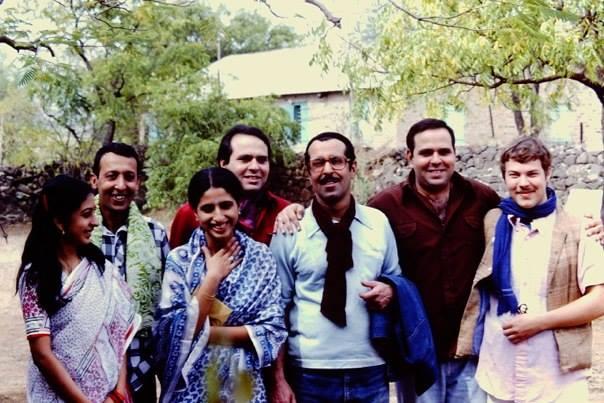 ( L-R ) Mehernaz Irani (Jal and Dolly's neice), Meherangiz Jassawalla , Bejan Irani, Meherukh Dadachanji- Rustom Irani, Eruch Irani, Sohrab and Win Coates