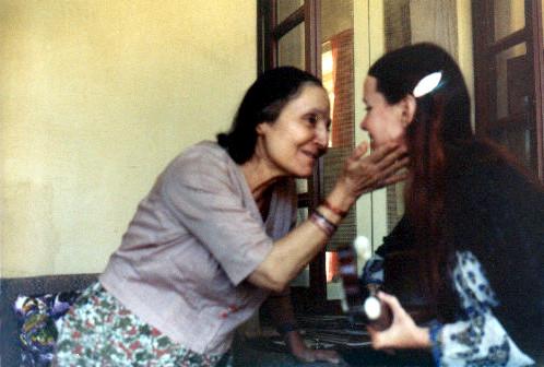 1978 : Raine with Mehera Irani