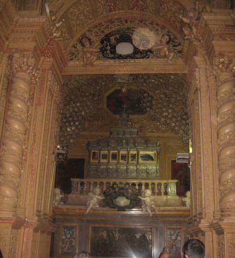 Relics of St. Francis Xavier