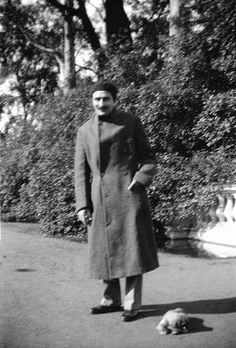 1935 : Meher Baba at Golden Gate Park