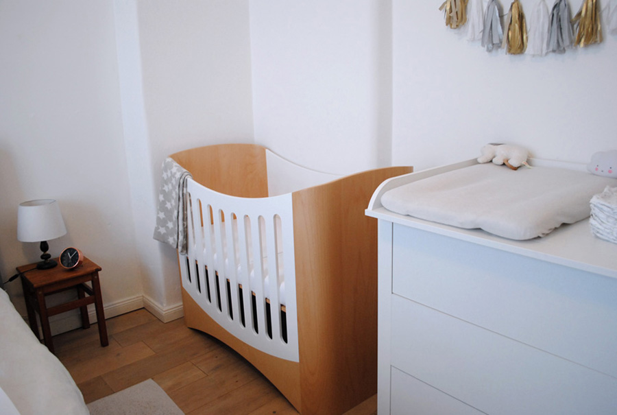 Kinderbett aus Holz, Babybett Design