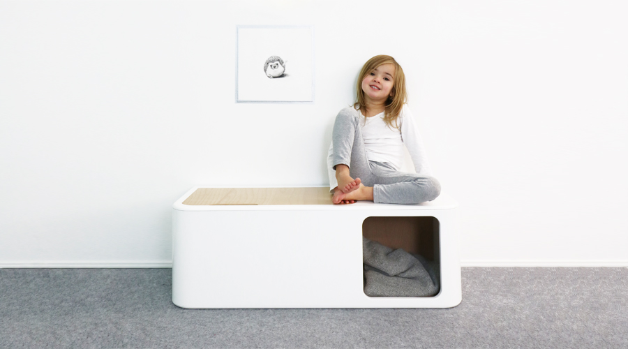 Spielzeugkiste Design für Kinder