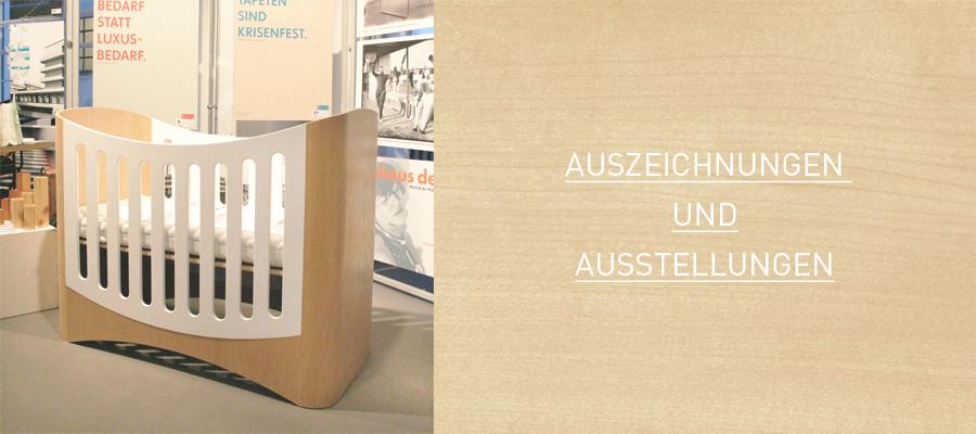 KINDGERECHT-Auszeichnungen und Austellungen der Design Kindermöbel