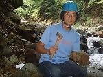 2009/7/20 60歳で山師となる。秩父鉱山金含鉱石採取