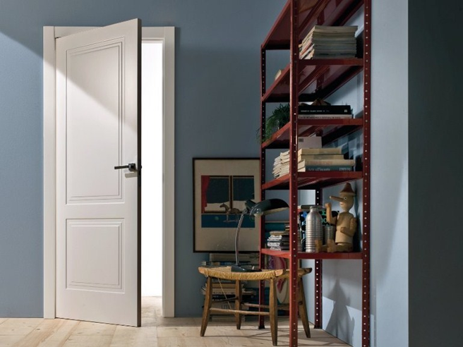 Porte intérieure, chambrale - contre chambranle - ébrasements