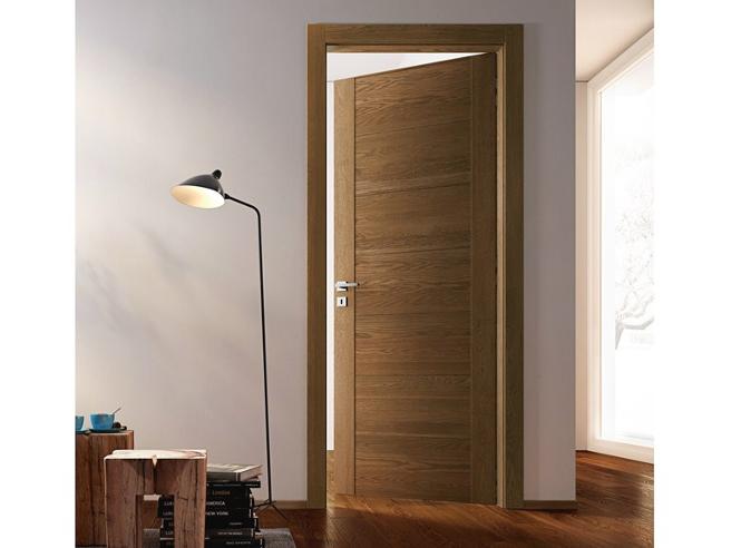 Porte intérieure ton bois