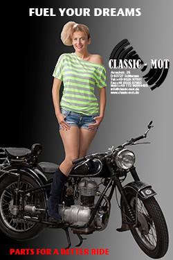 Werbung Classic-Mot