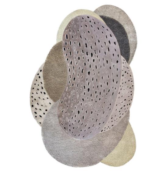 Expansion, 175 x 250 cm , laine et tencel