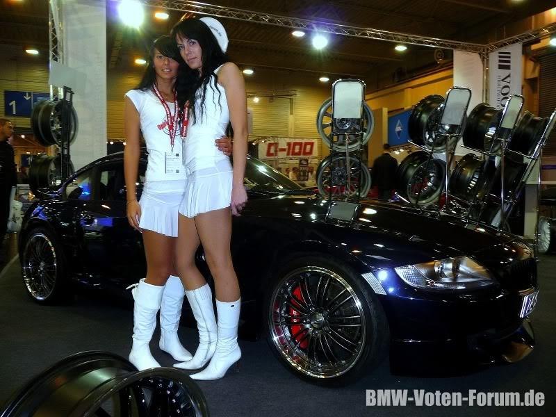 Z4 Coupe auf der Essen Motor Show