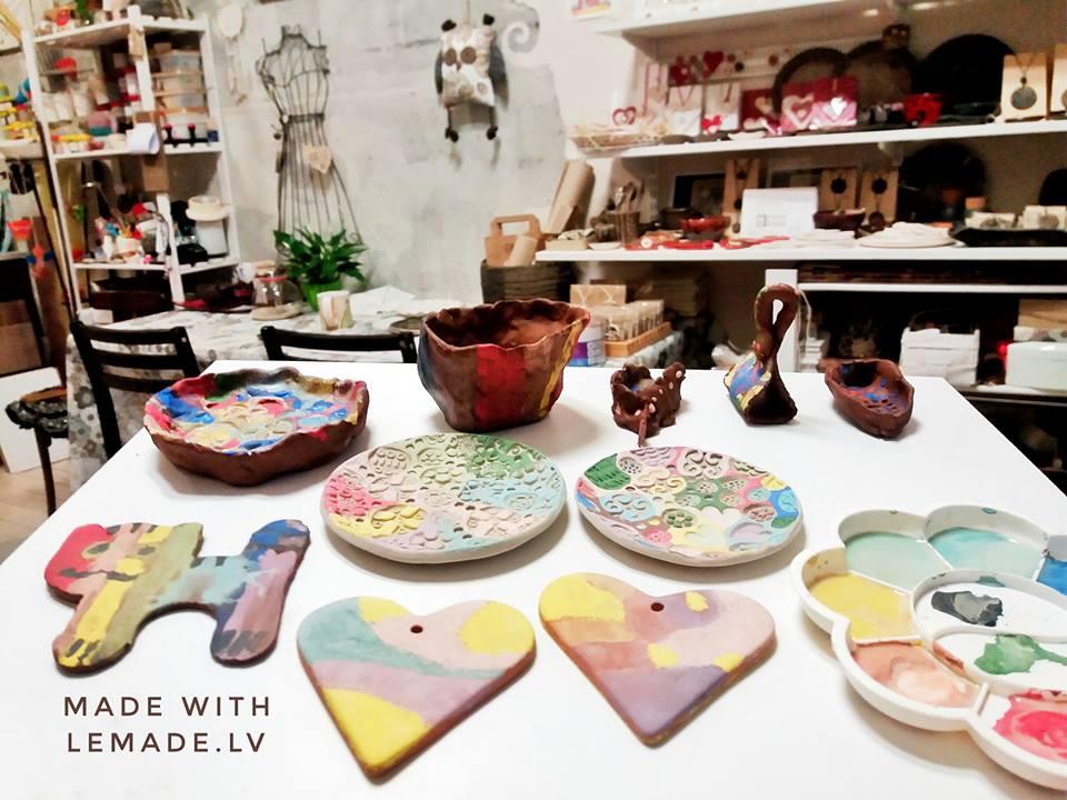Keramikas nodarbibas bērniem
