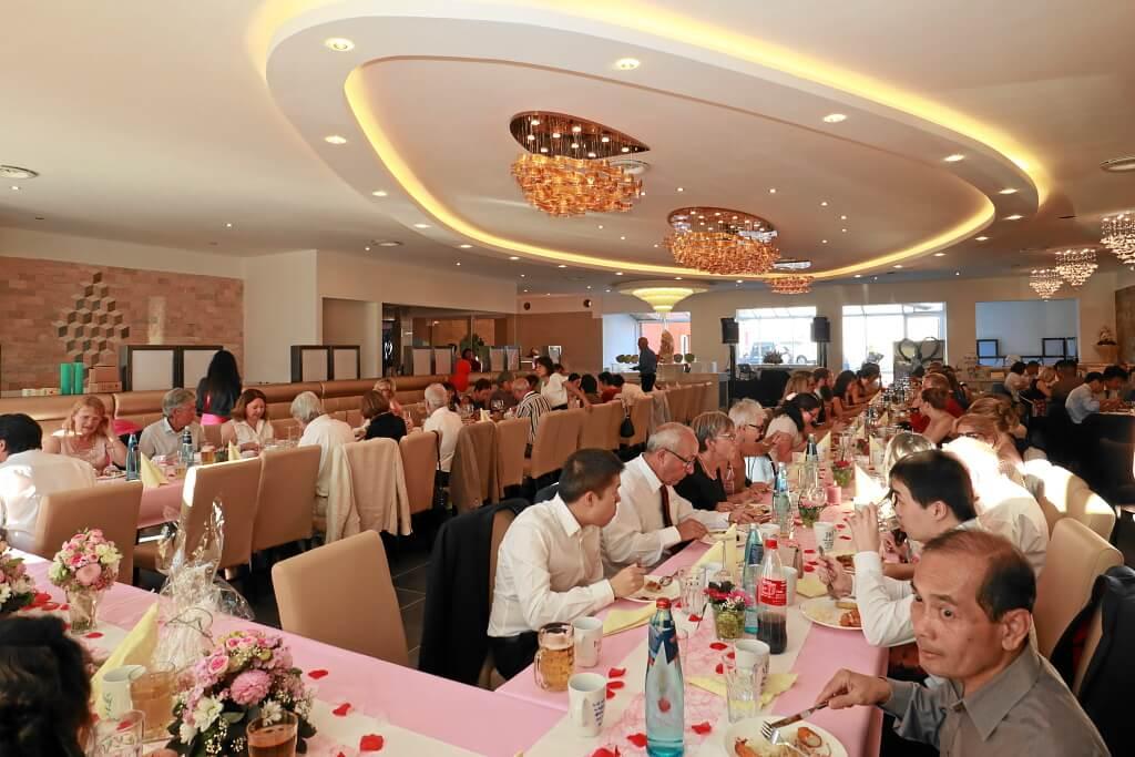 Hochzeitsfeier im grossen Saal