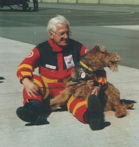 Der Airedale Terrier als Rettungshund