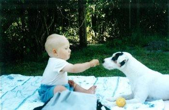 Glen Idol mag dieses kleine Menschenkind